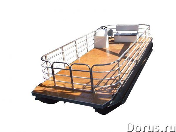 Грузопассажирское судно - Водный транспорт - Многоцелевое судно-катамаран предназначено для занятий..., фото 1