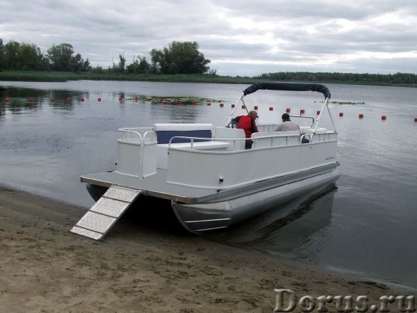 Грузопассажирское судно - Водный транспорт - Многоцелевое судно-катамаран предназначено для занятий..., фото 4
