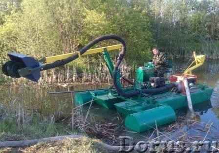 Мини земснаряд для чистки водоёмов - Промышленное оборудование - Производим мини земснаряды Юнга при..., фото 1