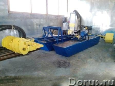 Мини земснаряд для чистки водоёмов - Промышленное оборудование - Производим мини земснаряды Юнга при..., фото 2