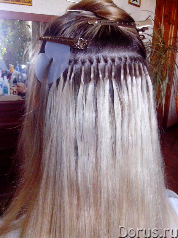 Профессиональное наращивание волос - Косметические услуги - Наращивание волос на капсулах и лентах..., фото 2