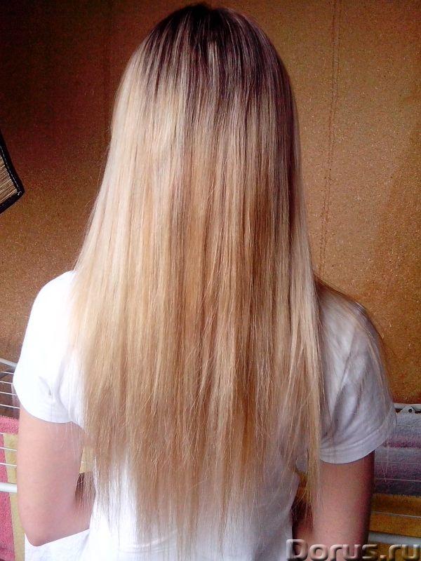 Профессиональное наращивание волос - Косметические услуги - Наращивание волос на капсулах и лентах..., фото 3